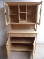 Victorian Octagonal Antique Pine Large Kitchen Dresser to wax /paint (10 of 10)