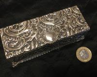Edwardian Irish Silver Plated Trinket or Jewellery Box (10 of 12)