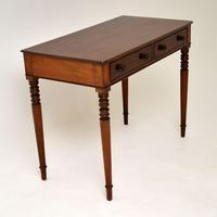Antique William IV  Mahogany Writing Table (2 of 9)