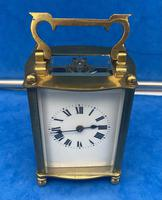 Early Gilt Brass 8 Day Carriage Clock (3 of 13)