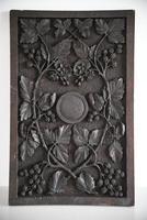 Carved Oak Panel Vines (8 of 9)