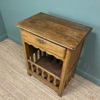 Country House French Georgian Oak Antique Bread Cupboard (4 of 5)