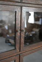 Minty Oak Sectional Glazed Bookcase (5 of 12)