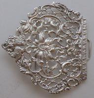 Large Victorian 1895 Hallmarked Solid Silver Nurses Belt Buckle Matron (7 of 8)