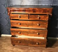Victorian Mahogany Chest of Drawers (7 of 12)