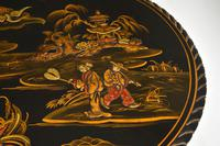 Antique Lacquered Chinoiserie Occasional Table (5 of 12)