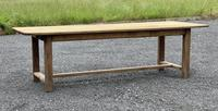 Large French Bleached Farmhouse Dining Table (19 of 26)