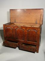 A Mid 18th Century Oak Dower Chest (2 of 5)