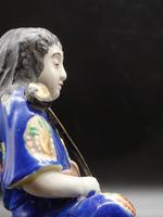 Early 20th Century Figure of a Young Chinese Lady Astride A Dragon (5 of 5)