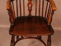 High Back Windsor Chair Ash & Elm Rockley Maker (6 of 8)