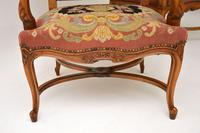 Pair of Antique Carolean Style Needlepoint Armchairs (5 of 12)