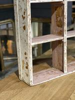 French Scraped Paint Wall Shelves or Display Box (14 of 17)
