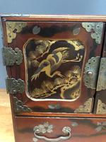 Antique Oriental Lacquered Table Cabinet (2 of 11)