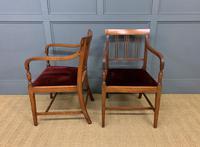 Set of 8 Georgian Mahogany Dining Chairs (3 of 16)