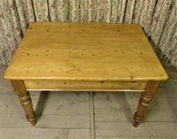 Antique Pine Farmhouse Table c.1860 (3 of 9)
