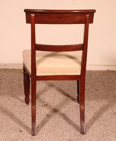 Set of 8 Mahogany Chairs Early 19th Century (8 of 10)