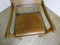 """Oak Armchair by """"Lizardman"""" Yorkshire (4 of 10)"""