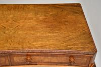 Antique Burr Walnut Queen Anne Style Console Server Table (10 of 10)