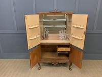 Burr Walnut Cocktail Cabinet (9 of 15)