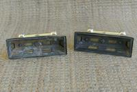 Pair of Victorian Brass Fire-Dogs Fire Irons Rest Andirons for Fireplace c.1890 (6 of 7)
