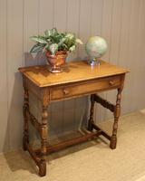 Light Oak Hall Table (10 of 11)