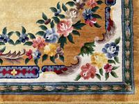 Vintage Chinese Silk Carpet 2.43m x 1.59m (4 of 11)