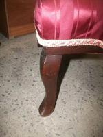 Ornately Carved Mahogany Nursing Chair (3 of 3)
