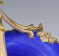 Fine & Large Alcock Rococo Porcelain Ornithological Basket c.1845 (16 of 17)