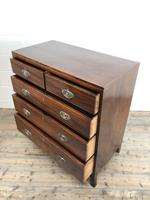 Antique 19th Century Mahogany Chest of Drawers (9 of 14)