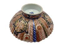 Antique Oriental Imari Porcelain Pedestal Dish c.1870 (6 of 8)