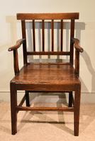 Country Oak Vernacular Armchair (4 of 4)