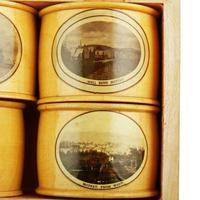 Set of Mauchline Ware Napkin Rings (4 of 8)