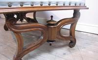 Large Antique Regency Footstool (5 of 5)
