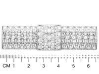 3.05ct Diamond & Platinum Brooch - Art Deco - Antique c.1915 (7 of 9)