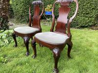 Pair of George I style chairs (7 of 8)