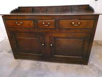 English 18th Century Oak Dresser with Spice Drawers (2 of 15)