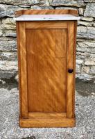 Antique Victorian Satinwood Bedside Pot Cupboard (3 of 16)