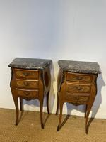 Pair of Bedside Cabinets 3 Drawers (3 of 7)