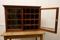 19th Century Mahogany Estate Office Mail Cupboard (5 of 10)
