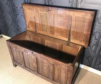 18th Century Oak Coffer (9 of 13)