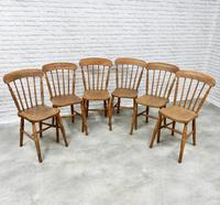 Set of 6 Stickback Windsor Kitchen / Dining Chairs (2 of 6)