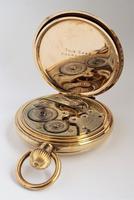 1930s Dreadnort Half Hunter Pocket Watch by Cyma (5 of 6)