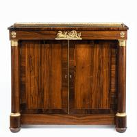 Pair of Late Regency Rosewood Side Cabinets (6 of 8)