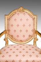 Pair of Italian 19th Century Elbow Chairs (4 of 6)