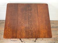 Victorian Oak Pembroke Table (4 of 9)
