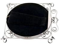 Sterling Silver Photograph Frame - Antique Edwardian 1905 (5 of 9)