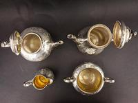 Victorian Four Piece Silver Teaset (3 of 4)