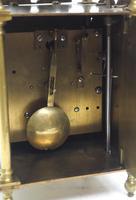 Superb Vintage English Lantern Clock - Pendulum 8-day Striking Mantel Clock c.1890 (12 of 12)