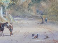 Watercolour English Countryside Listed Artist Henry Earp Senior (2 of 10)