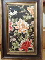 Late 19th Century Framed Silk Embroidery (2 of 4)